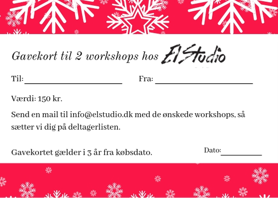 Gavekort workshops